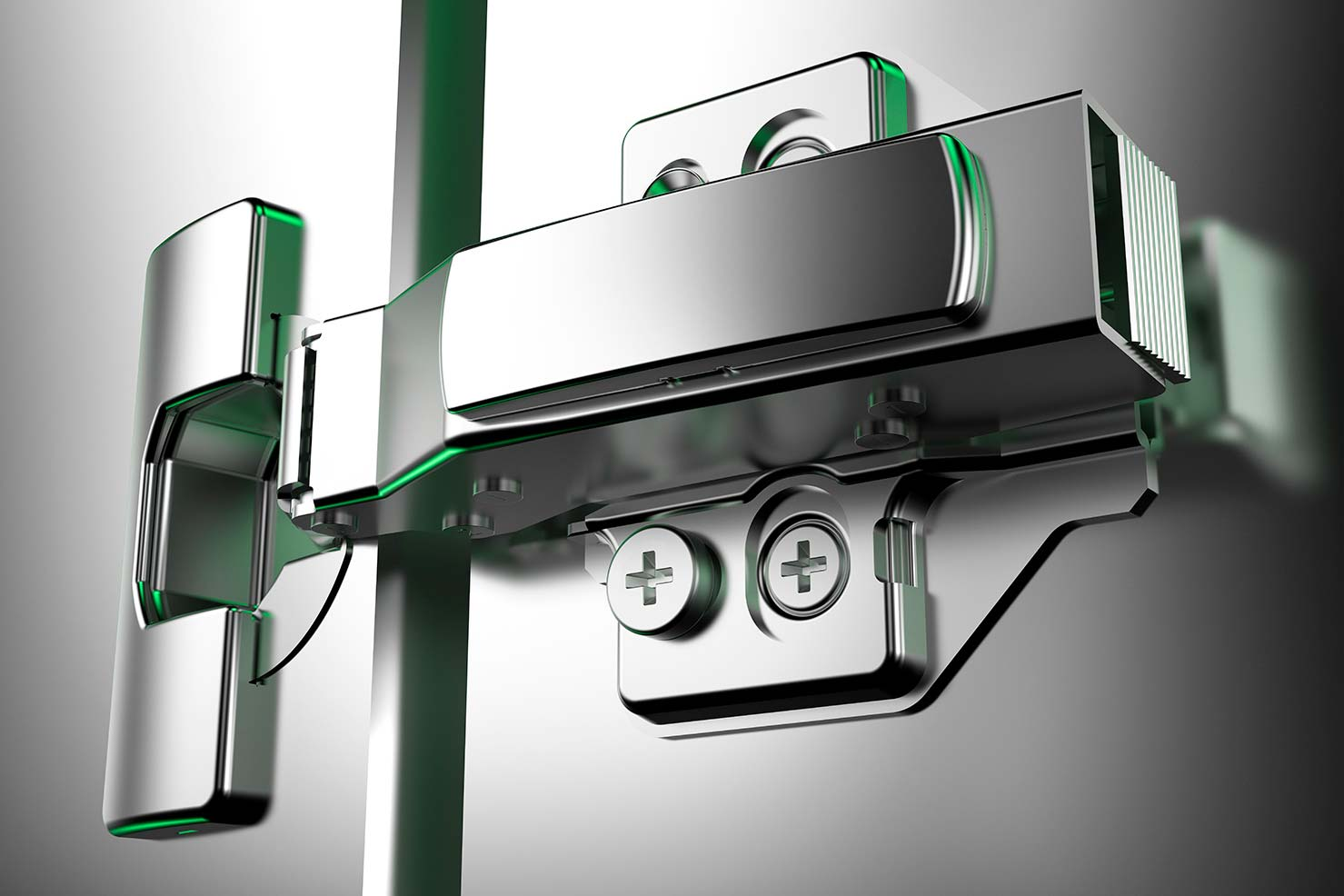 Integrated Hinges